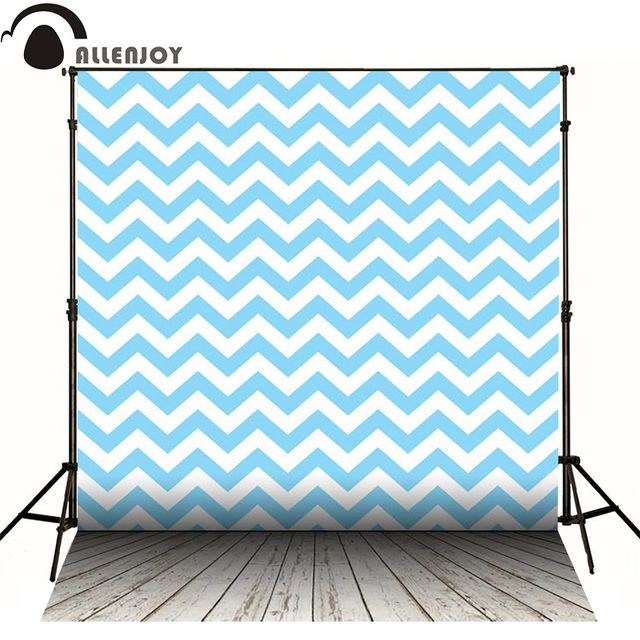 Allenjoy photography backdrops navy blue geometric seamless pattern chevron wallpaper kids lovely backgrounds for photo studio
