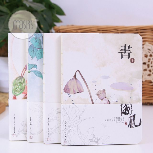 MOUSRS Chinese Vintage Travelers Notebook Planner A5 Organizer Journal Book School Supplies Notebooks And Journals Stationery