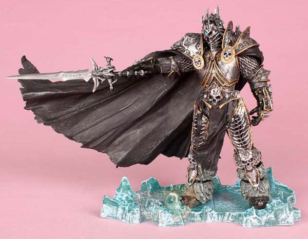 Heroes of the Storm Cosplay Lich King Arthas Menethil  21cm/8.3'' PVC Boxed Action Figures Garage Kit Model Toys