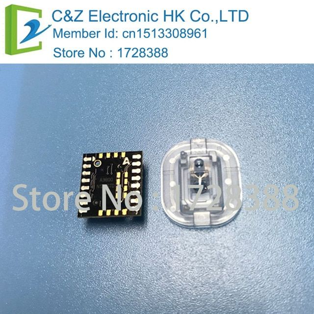 ADNS-9800 + ADNS-6190-002   A9800   DIP16sensor with new Optical lens NEW&ORIGINAL  ADNS9800 FREE SHIPPING by China post