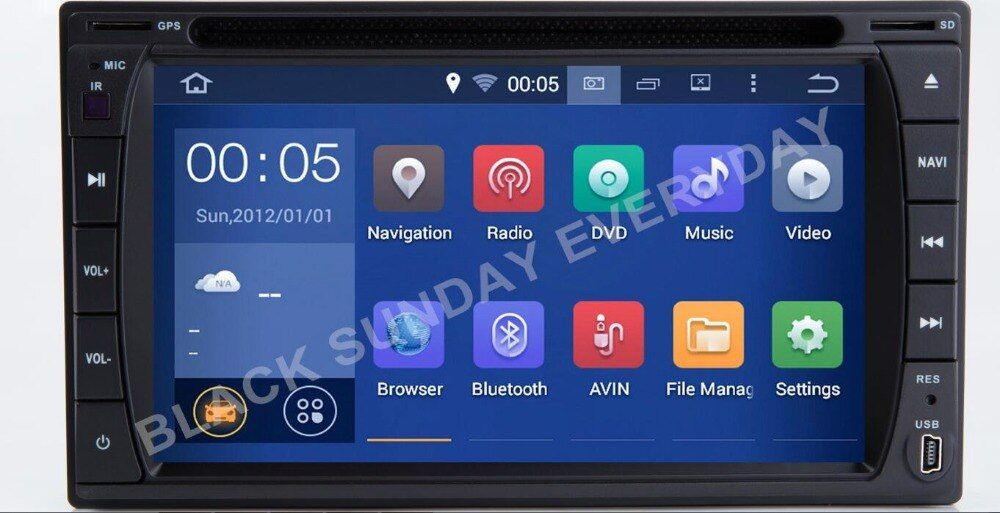 Android 9.0 Universal Car DVD Player For Nissan OLD MODEL MICRA,MURANO,350Z,LIVINA,NAVARA,MP300,SENTRA, NV200 GPS AUDIO RADIO