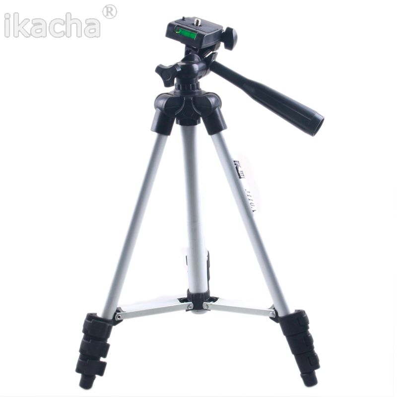 WEIFENG WT3110A WT-3110A Tripod With 3-Way Head Tripod Universal Camera Tripod For Canon Nikon D7100 D90 D3100 Sony Pentax DSLR