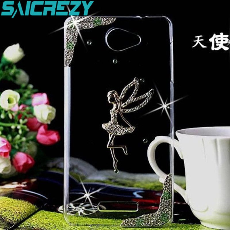 Rhinestone bling crystal clear back cover luxury phone case for Sony Xperia XA1 XA1 Ultra XZ XA Dual M4 Aqua E5 C5 Z2 Z3 Z5 case