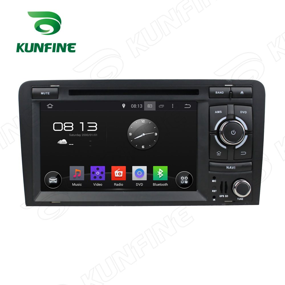 2GB RAM Octa Core Android 6.0 Car DVD GPS Navigation Multimedia Player Car Stereo for Audi A3 2003-2013 Radio Headunit