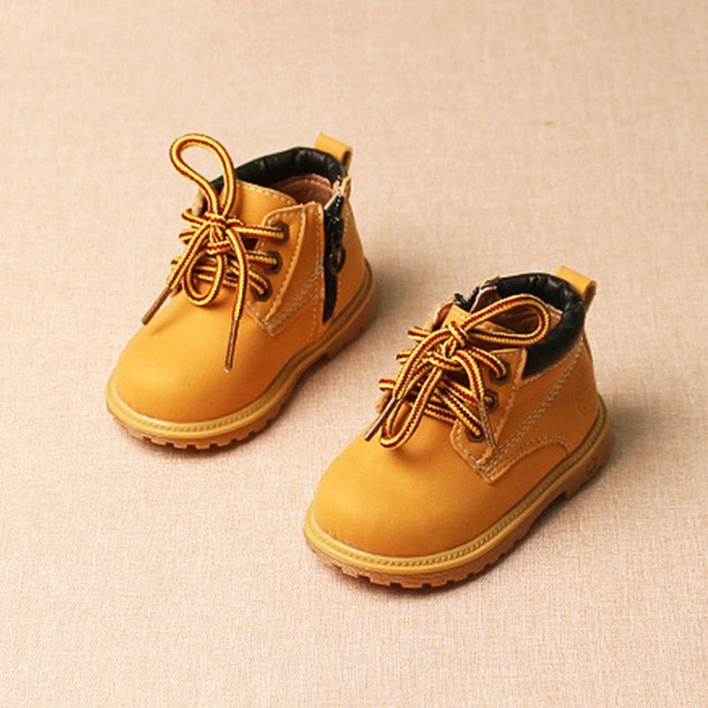 CUTE Solid Color Bolt Boys Toddler Shoes 2016 Spring and Autumn Casual Leather Baby Shoe Moccasins Soft Bottom Infant Shoes 1173