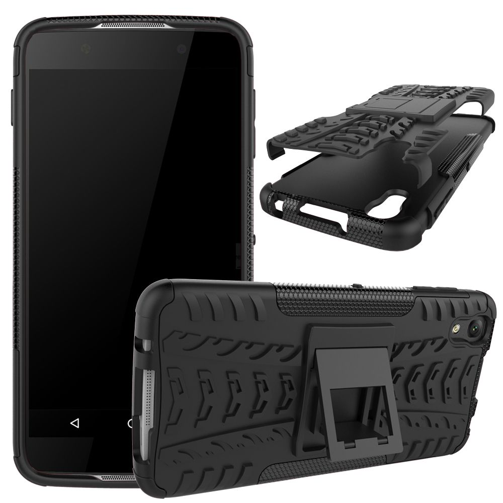 For Alcatel Idol 4 Case Hybrid TPU + PC Armor Hard Silicone Cover For Alcatel One Touch Idol 4 6055U 6055Y 6055K Phone Case