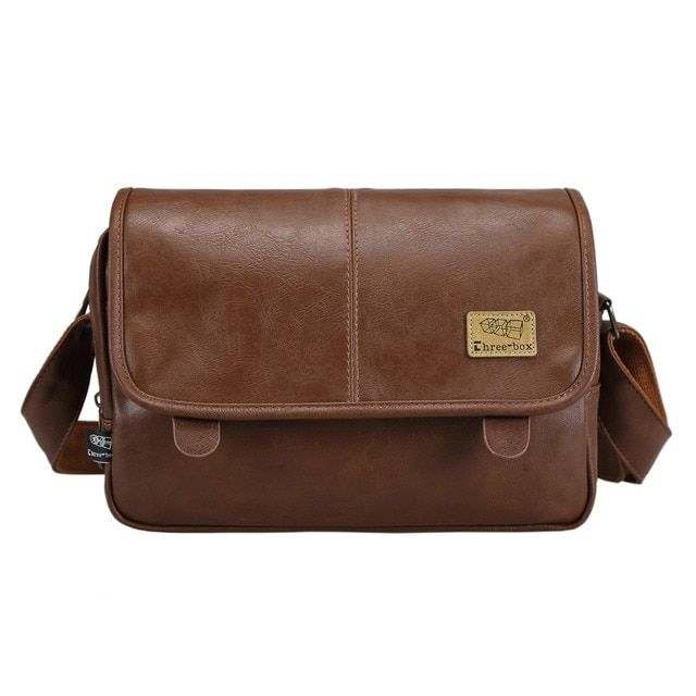 wholesale price good quality men's messenger bags pu leather travel bag luxury pretty style shoulder bags drop shipping
