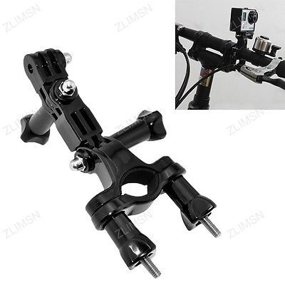 Bike Motorcycle Action Camera Accessories Handlebar Seatpost Pole Mount Holder for GoPro Hero 4/3/3+/2/1