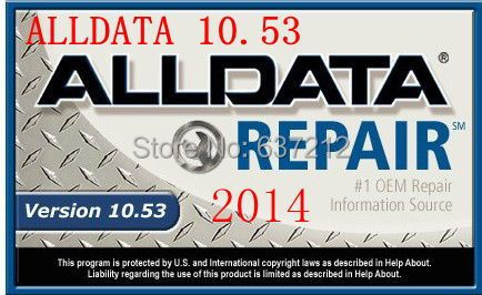 Latest Car Diagnostic Software for Alldata 10.53 with 640G HDD ,Support Win 7 / 8 / 10