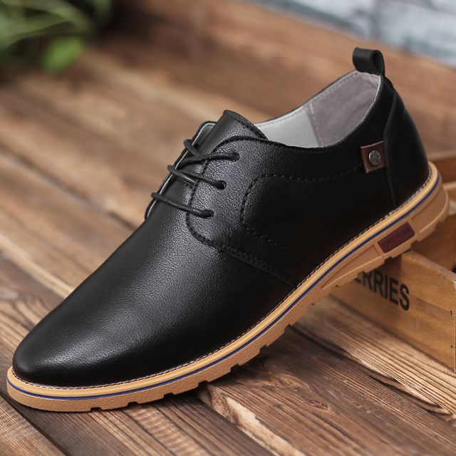 Breathable British Style Men Shoes For Adults Round Toe Lace Up High Quality Shoes For Male Chaussure Homme c144 15