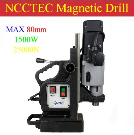 80mm Core drill Magnetic Drills NMD80C | 3.2'' MAGNETIC Drilling Machine | 1500W professional machine for professional buyer