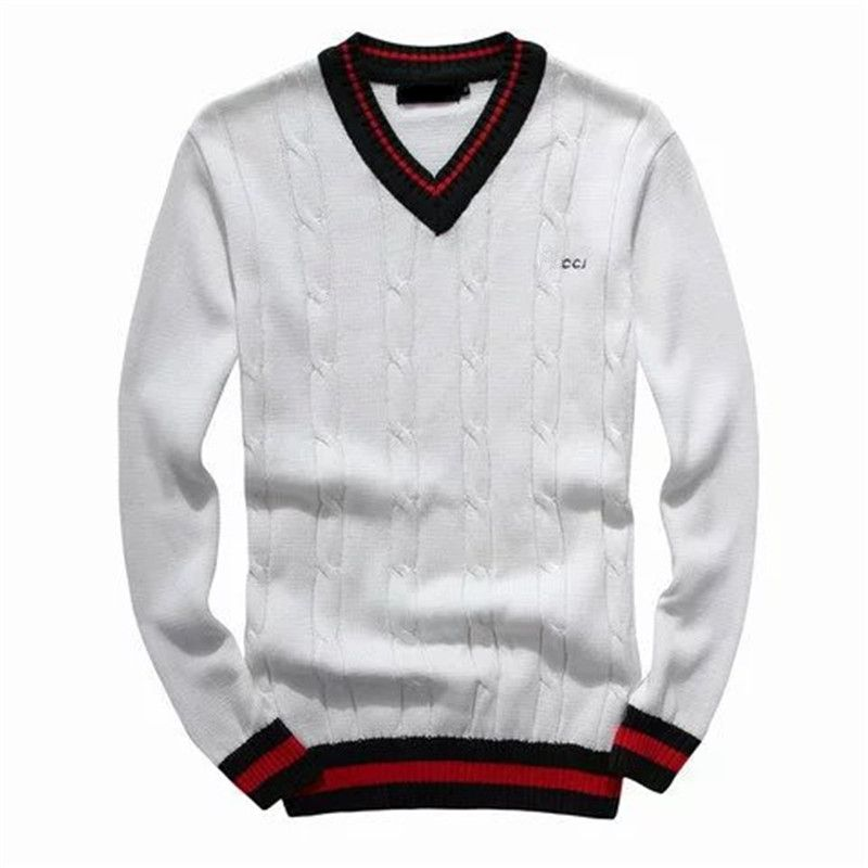 Luxury Striped Design Men Winter Sweater 2016 casual knitted cotton thicken pullover mens sweaters V-neck christmas jumper homme