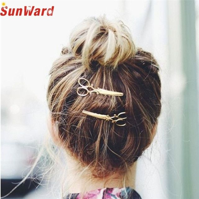 Lady's headband SUNWARD Delicate 2017 fashion hair clip women girl 1PC Hair Clip Hair Accessories Headpiece  wholesale W55