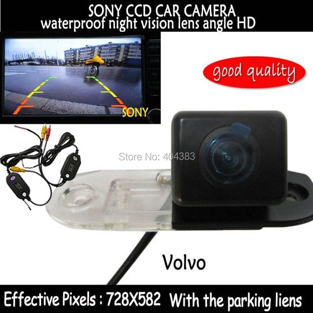 wifi sony CCD chip Rear View car backup reverse parking camera night vision waterproof for VOLVO S80 SL40 SL80 XC90 S40 C70