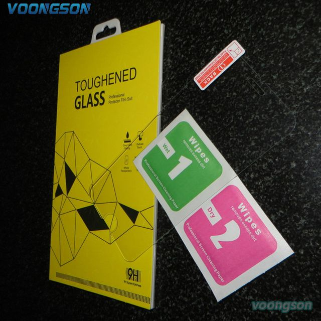 VOONGSON 9H 6G 0.3MM Explosion-proof Tempered Glass For Apple iphone 6 s 6s Premium Screen Anti Shatter Protector Film