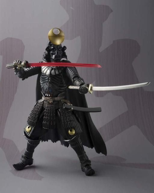 Star Wars Action Figure Darth Vader Model 17CM Movie Realization Samurai Taisho Darth Vader Toy Star War Sic Samurai Taisho Doll