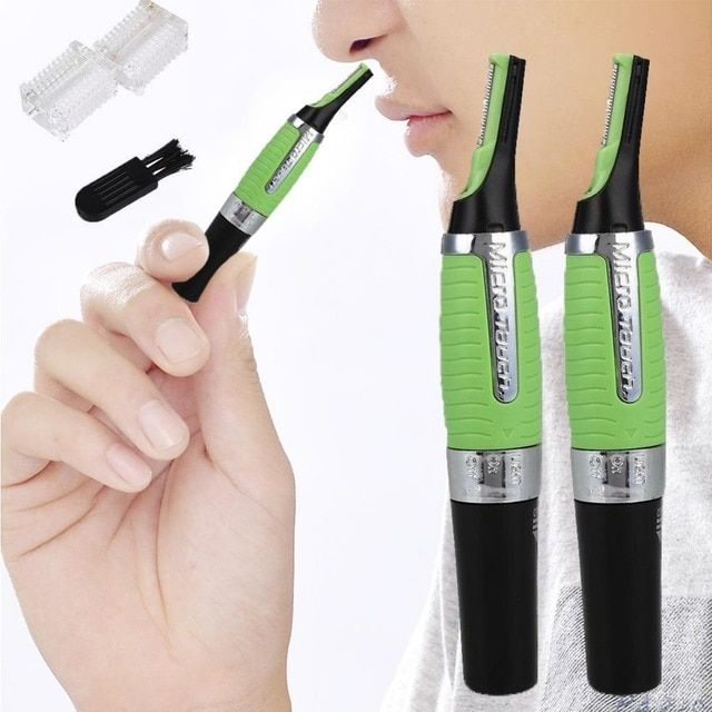 3 In 1 LED Electric Nose Hair Ear Face Trimmer Shaver Clipper Remover Cleaning