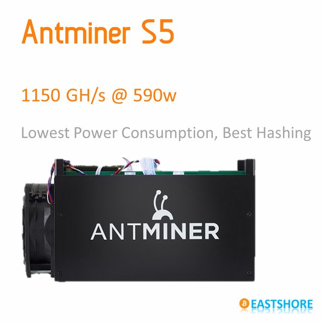 [SOLD OUT] Bitcoin Miner Antminer S5 1TH Asic Miner 1150GH Super Btc Miner Better Than Dragon Miner