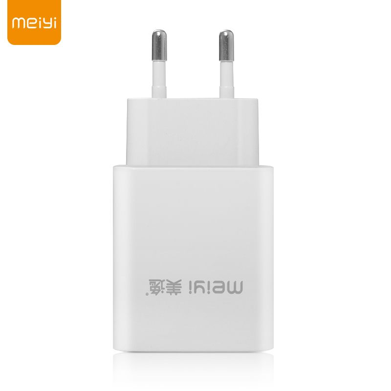 MEIYI 5V 2.4A/1A Universal Travel USB Charger Adapter Wall Portable EU Plug Mobile Phone Smart Charger for iPhone Tablet Samsung