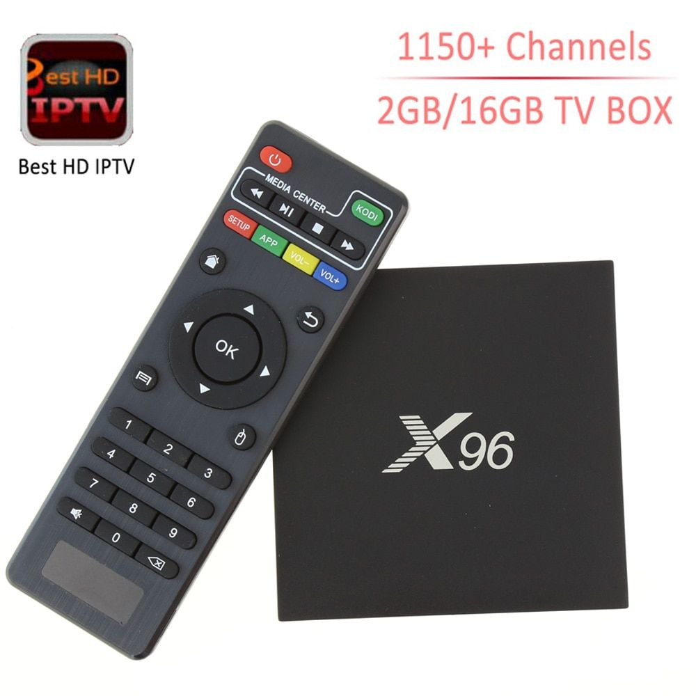 Newest X96 Amlogic S905X Quad Core Android 6.0 TV BOX 2G/16G mini pc 16.1 4K IPTV 1 year HD Smart Tv box PK M8s T95 Set Top Box
