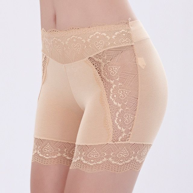 Free Shipping The exposed security trousers Three points lace breathable insurance pants Increase render underwear #7236R2