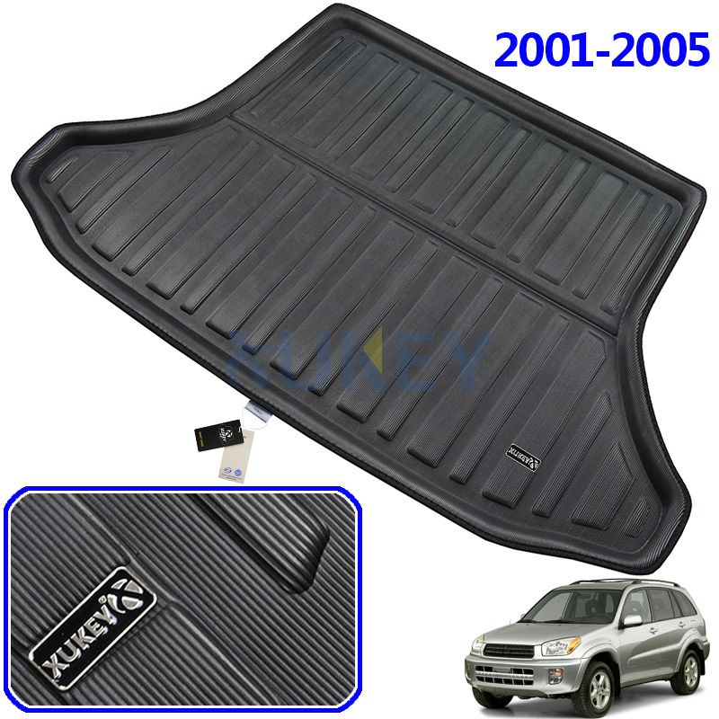 FIT FOR TOYOTA RAV4 BOOT MAT REAR TRUNK 2001 2002 2003 2004 2005 LINER CARGO FLOOR TRAY PROTECTOR Accessories