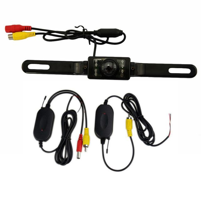 fm transmitter	car-styling modulator transmitter transmissor fm License plate frame camera