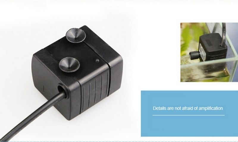 50Hz Adjustable Flow Mini Submersible Water Pump For Aquarium Fish Tank Fountain Pond Pool HJ-111