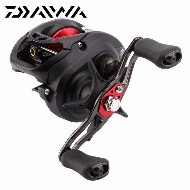 DAIWA Baitcasting Fishing Reel FUEGO CT 103SHL 205g Max 5kg 5+1BB 7.3:1 Super High Speed Ratio Saltwater Casting Fishing Reel