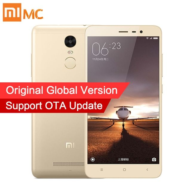 Global Version Xiaomi Redmi Note 3 Pro Prime Mobile Phone Snapdragon 650 3GB RAM 32GB ROM 5.5'' 16MP Camera 4000mAh Fingerprint