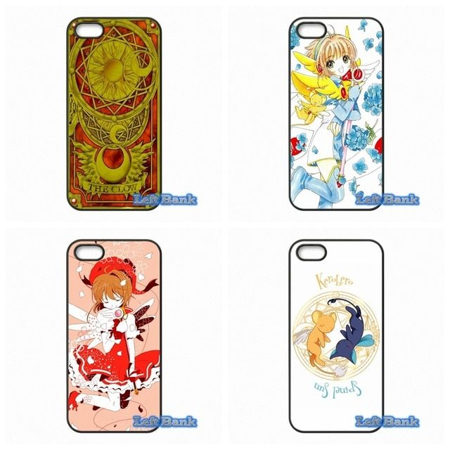 For Samsung Galaxy Note 2 3 4 5 7 S S2 S3 S4 S5 MINI S6 S7 edge Cute Anime Cardcaptor Sakura Case Cover