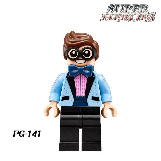 PG141 Scuttler Robin Blue Suit Single Sale 2017 The Batman Movie 70908 Building Blocks Children Kids Gift Toys Hobbies PG8042