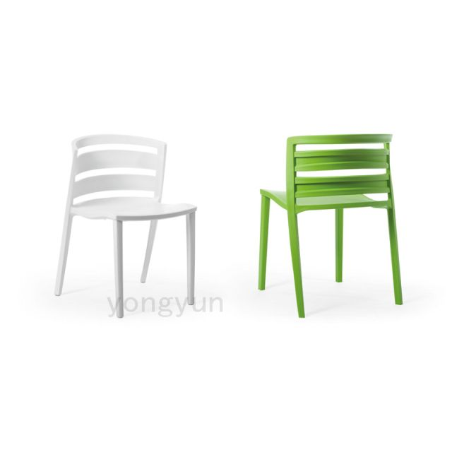 Modern minimalist fashion chair. Personality plastic PP chair. Free assembly .Leisure Chair