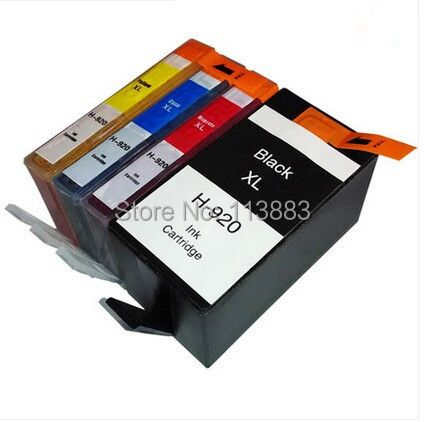 BLOOM Full ink FOR 920 XL 920XL compatible ink cartridge For HP Officejet 6000 /6500/6500 /6500A /7000/7500/7500A with chip