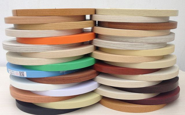 Hot Melt Pre Glued PVC Edge Banding MFC Wood  Veneer Office Kitchen Wardrobe Furniture Board Panel Edgebanding 5cm x 5m Edger