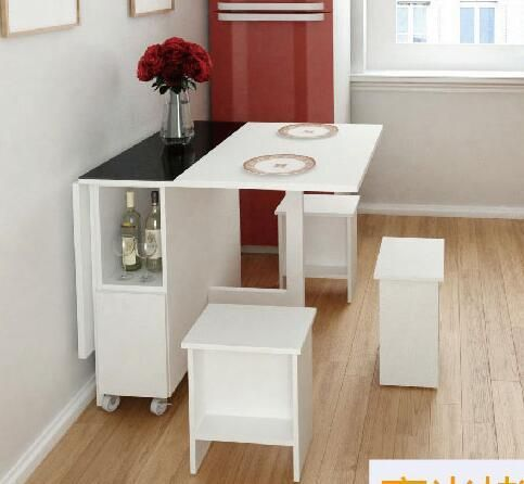 Table. The wall table multifunctional folding table. Scalable rectangle. The dinner table