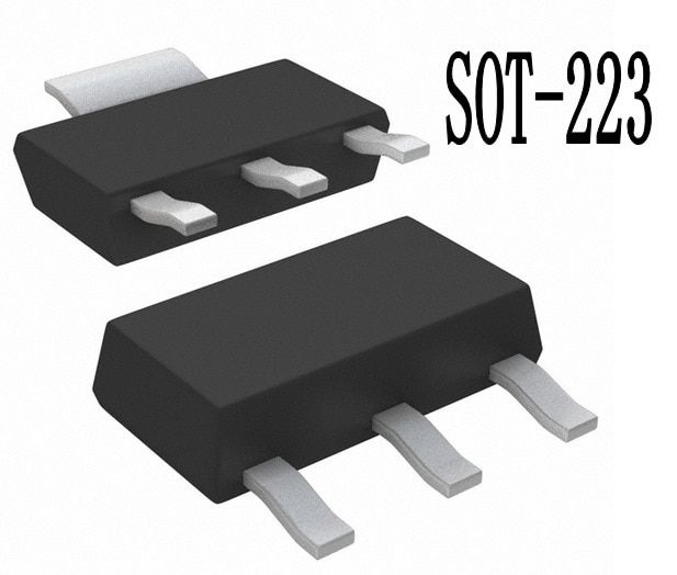 15pcs/lot SOT223 NCP1055 NCP1055ST136T3G In Stock