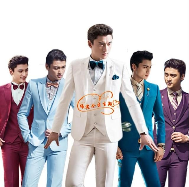 Blazer men formal dress latest coat pant designs suit men costume homme terno masculino singer marriage wedding suits for men's
