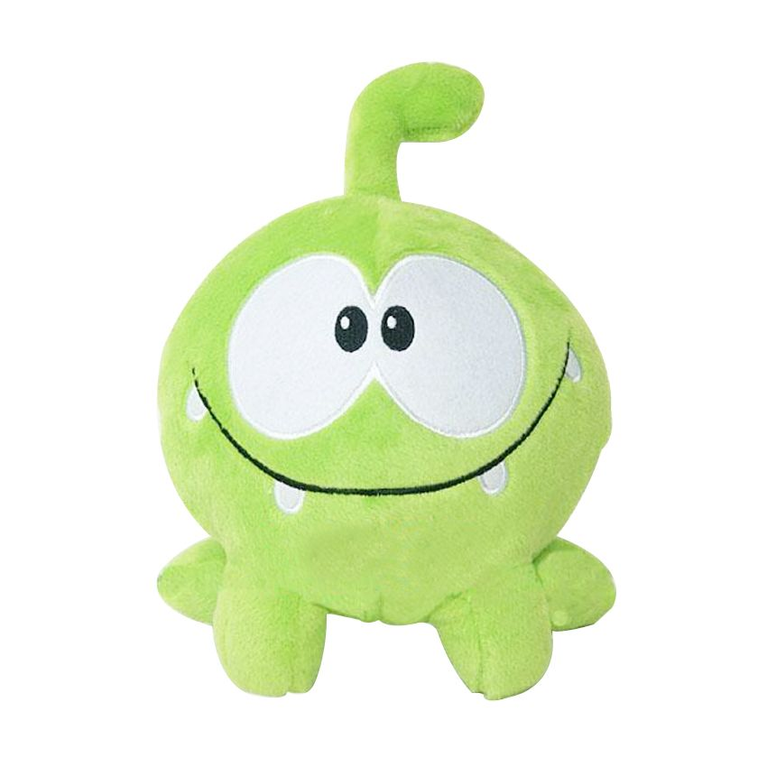 "1PC Kawaii 7""20cm om nom frog plush toys cut the rope Soft rubber cut the rope figure classic toys game lovely gift for kids"