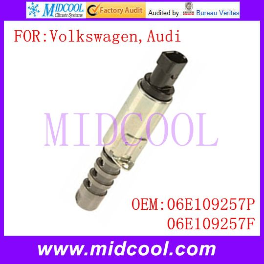 New Oil Control Valve VVT Variable Timing Solenoid use OE NO. 06E109257P 06E109257F for Volkswagen Audi