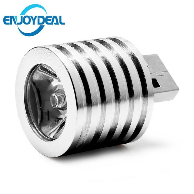 5V 2W Portable Mini USB LED Spotlight Lamp bulb Mobile Power Flashlight Lampara headlight White Light USB Connector Spot Light