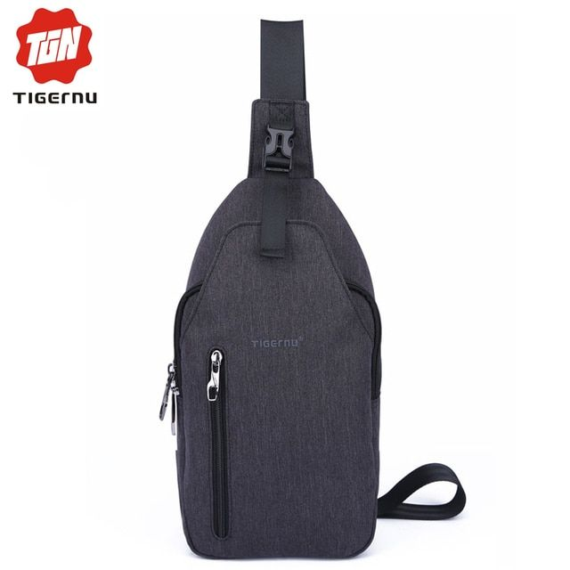 2017 Tigernu Waterproof Man Casual Messenger Bag Fashion Mini Women Shoulder Bag Chest Pack Bag Crossbody Sling Bag For Ipad