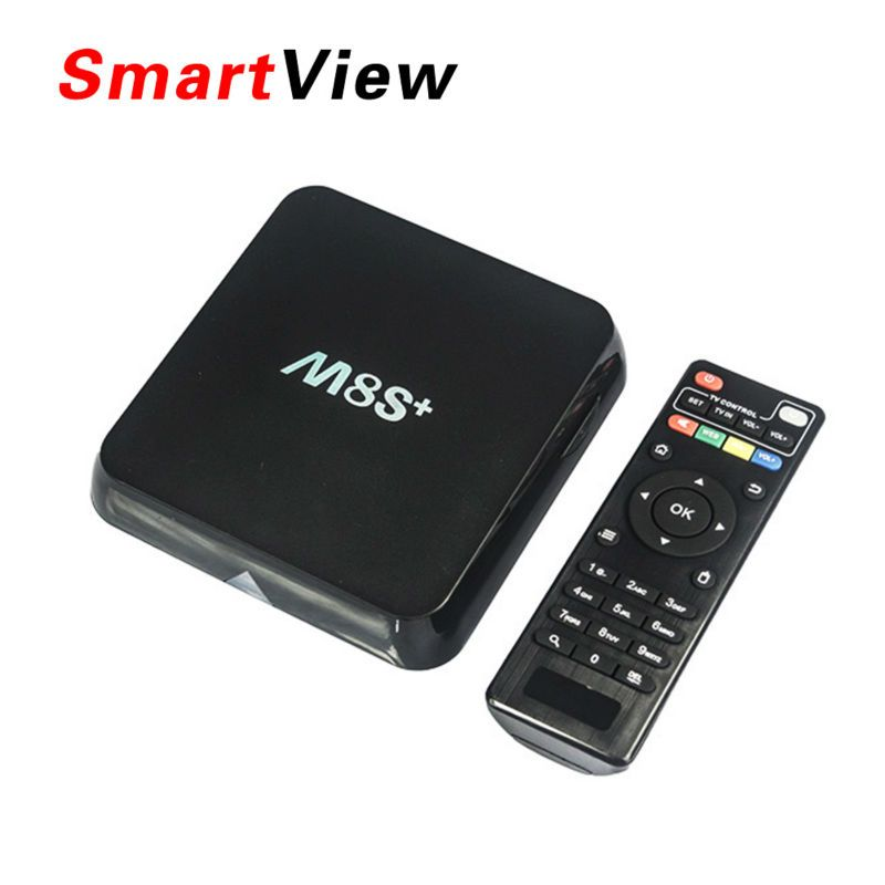 [Genuine] M8S Plus Android 5.1 TV Box Amlogic S812 2.4G&5G Wifi m8s+ 2GB/8GB H.265 Bluetooth 4.0 4k smart tv box Pk m8s pro