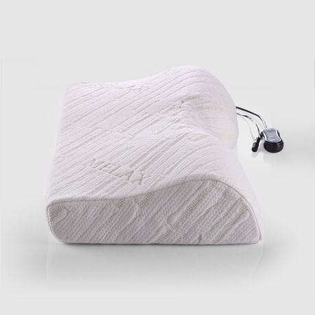 Thailand Import Latex Intelligent Electric Cervical Massage Pillow, Health Care Memory Pillow,Sleep Health Pillow