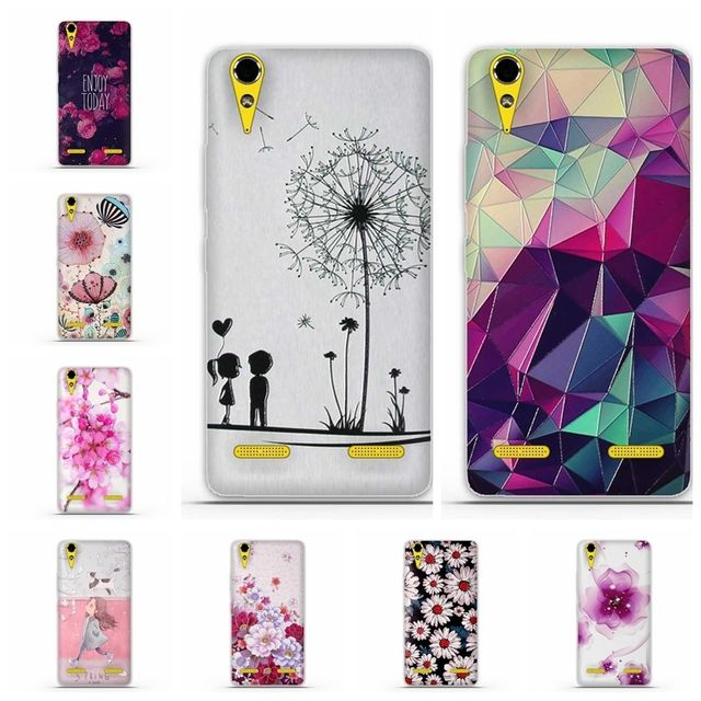 "For Lenovo A6000 A6010 5.0"" Soft Back case TPU Phone Case For Lenovo A 6000 Plus Hoesjes Lemon K3 K30-T K30-W Soft Silicon Case"