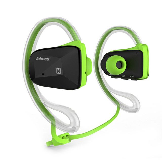 Jabees BSport Bluetooth Earphone V4.1 waterproof Sports Stereo Headphones with NFC ATPX for Running Jogging Fitness Cycling