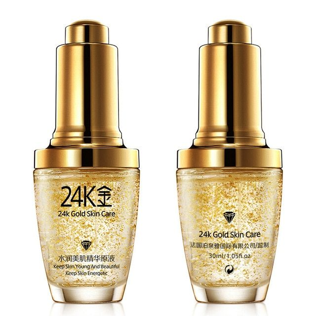 30pcs/lot BIOAQUA 24K Gold Face Cream Whiten Moisturizing 24 K Gold Day Cream Hydrating 24K Gold Essence Serum Skin Care