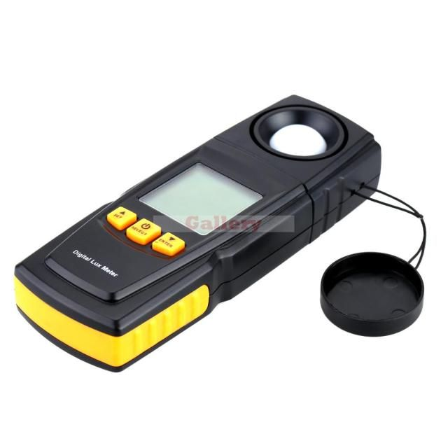 Photometer with Lcd Backlight Digital Light Meter 200000 Lux Handheld Illuminance Measure Tester Gm1020