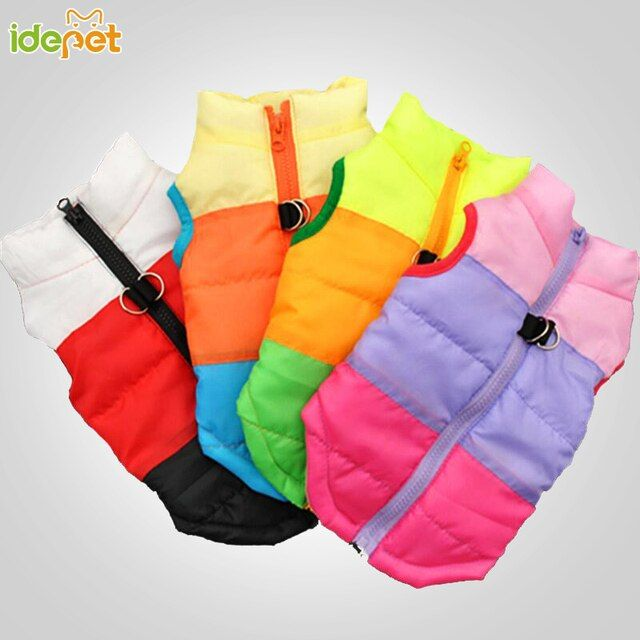 Winter Dog Clothes For Small Dog Coat Puppy Outfit Fashion Clothing For Dog Vest Apparel Pet Chihuahua Clothes Roupa Cachor 25S1