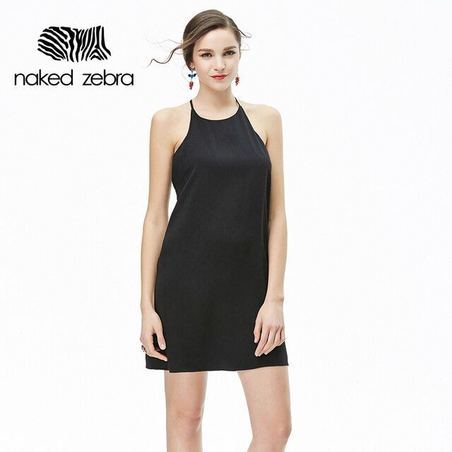 Naked Zebra Female Apparel Sexy Backless Dress Women Vintage Bodycon Summer Dress Beach Party Short Dresses Casual Vestidos